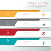 Design flat shadow template banners /graphic or website .Vector/