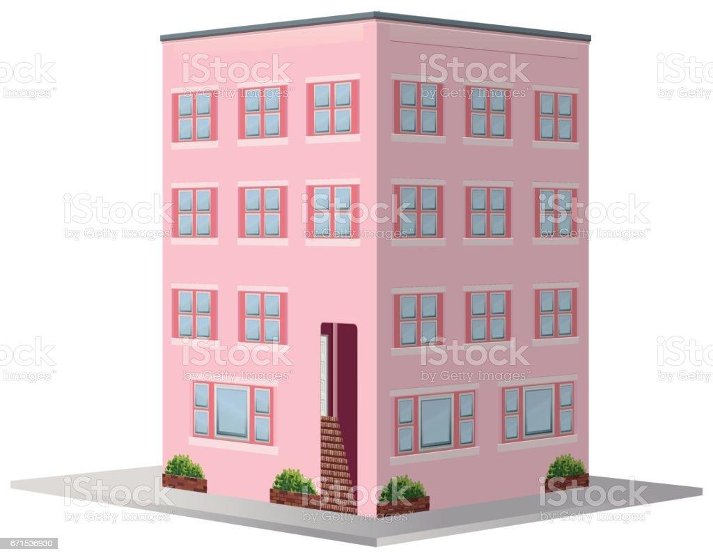 Design For Apartment Building Stock Vector Art Istock