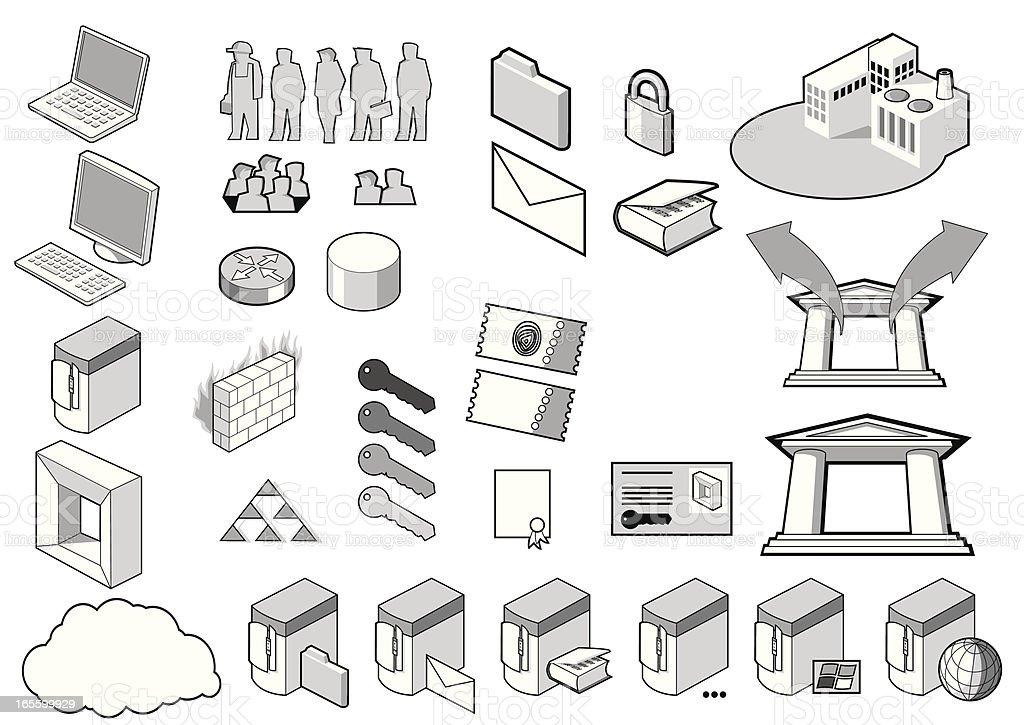 Design Icons | Set 1 royalty-free stock vector art