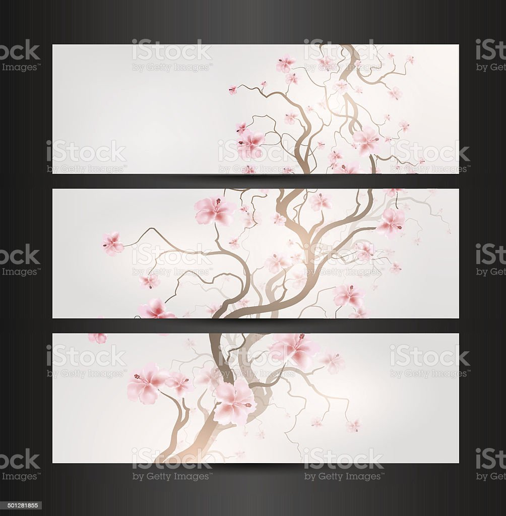 Design Sakura royalty-free stock vector art