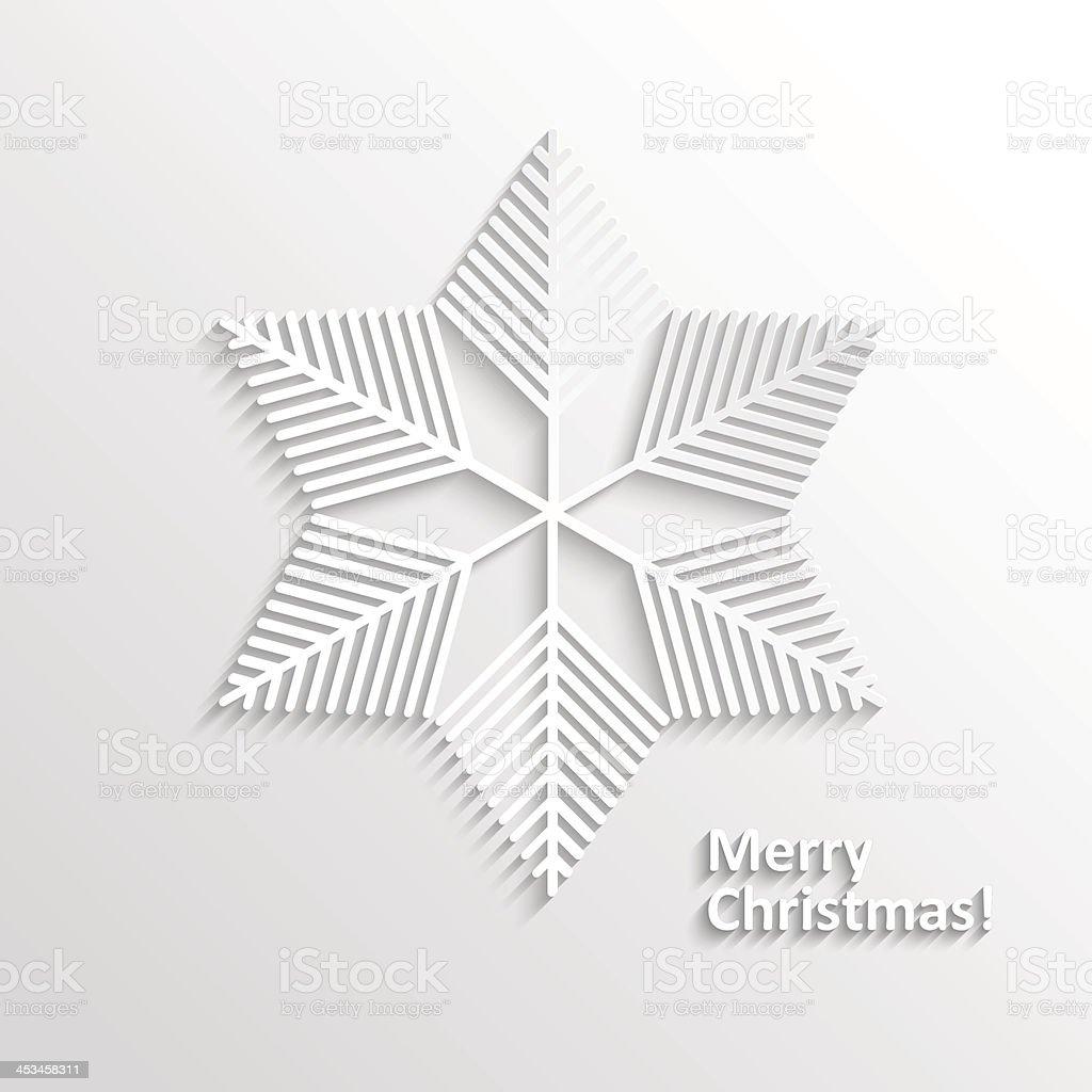 Design Snowflake vector art illustration