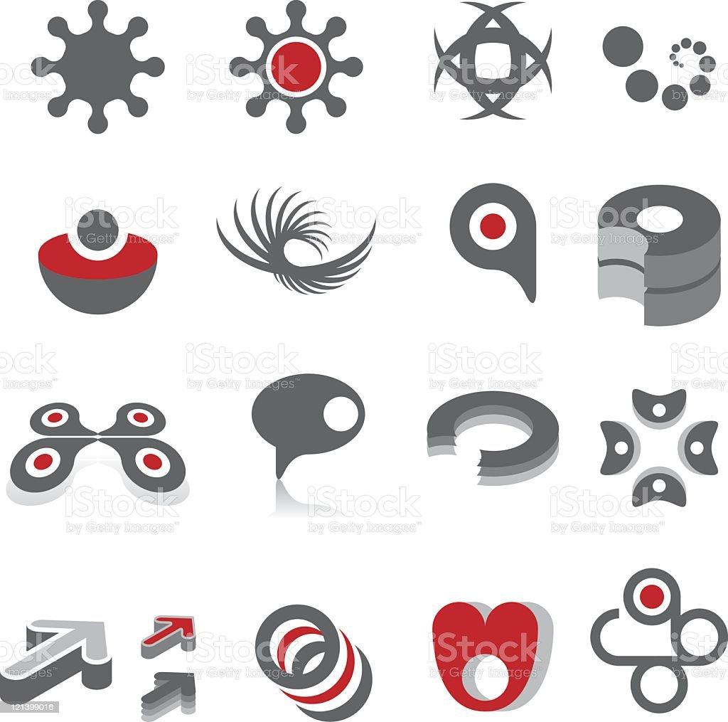 Design symbols royalty-free stock vector art