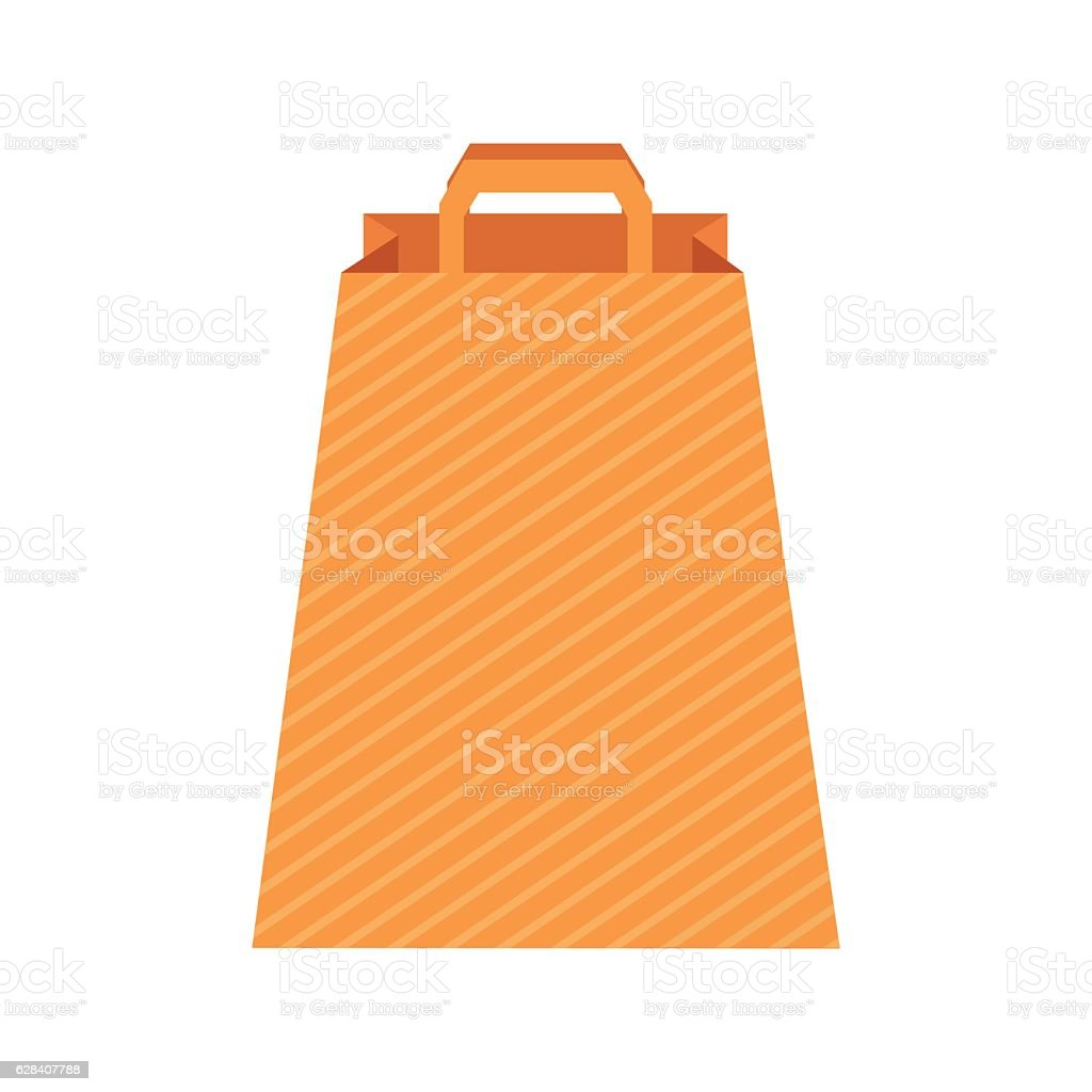 Paper bag vector - Design Template With Paper Bag Vector Illustration Royalty Free Stock Vector Art