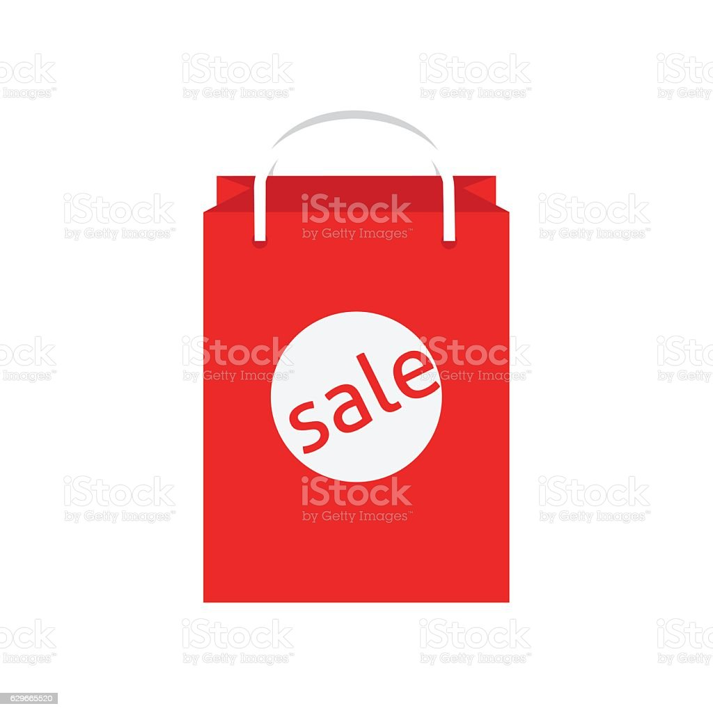 Paper bag vector - 1 Credit