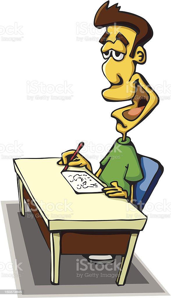 Escritorio de trabajo illustracion libre de derechos - Escritorio de trabajo ...