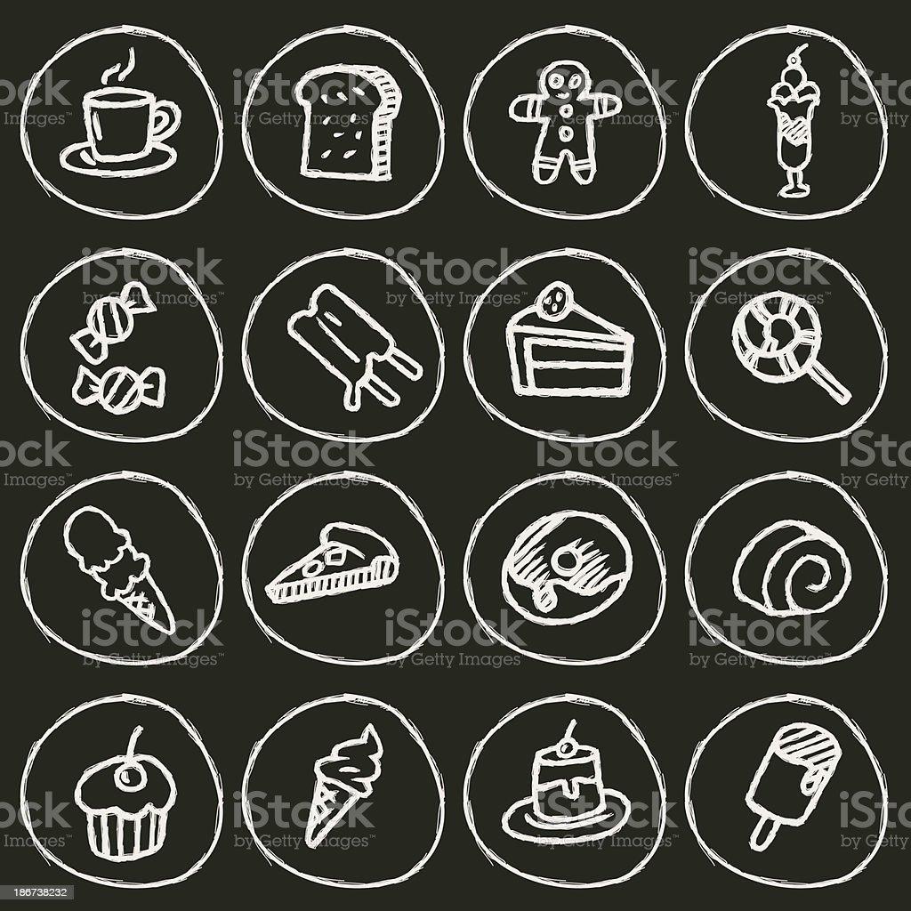 Dessert Icon vector art illustration