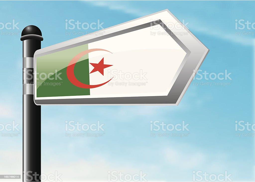 Destination: Algeria royalty-free stock vector art