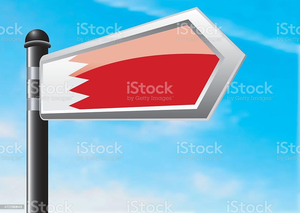 Destination: Bahrain royalty-free stock vector art