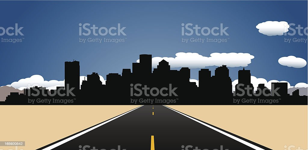 Destination Boston royalty-free stock vector art