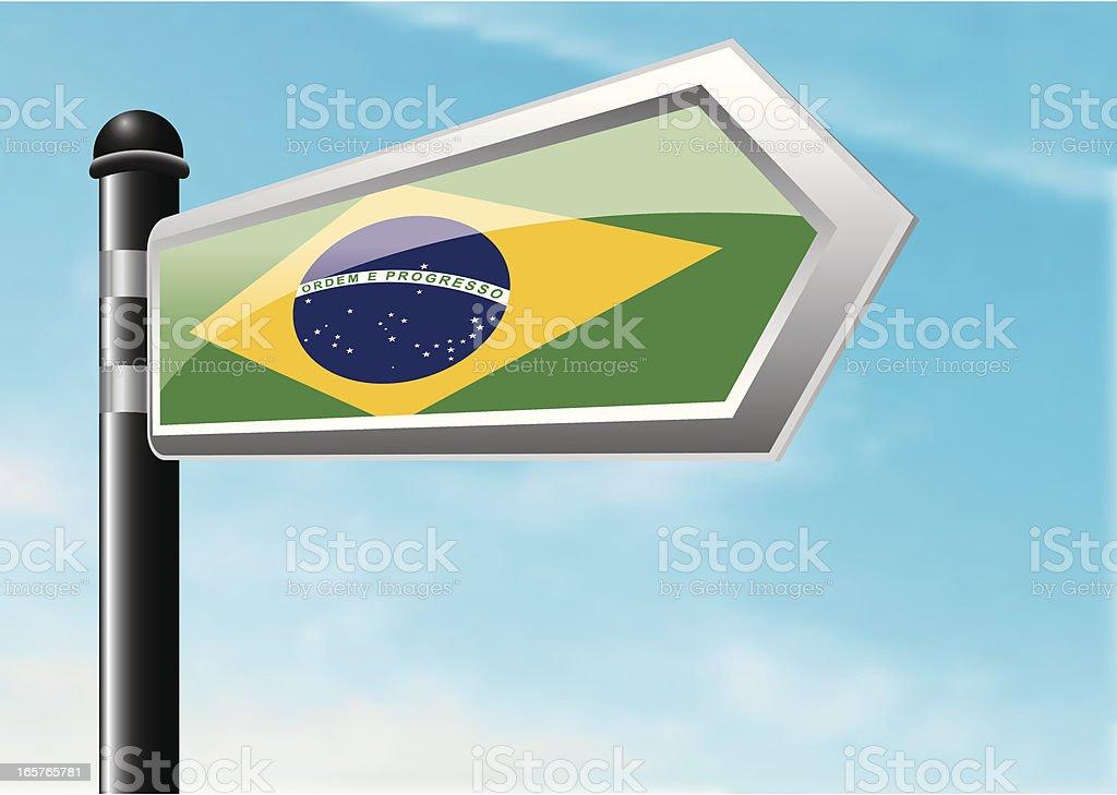 Destination: Brazil royalty-free stock vector art