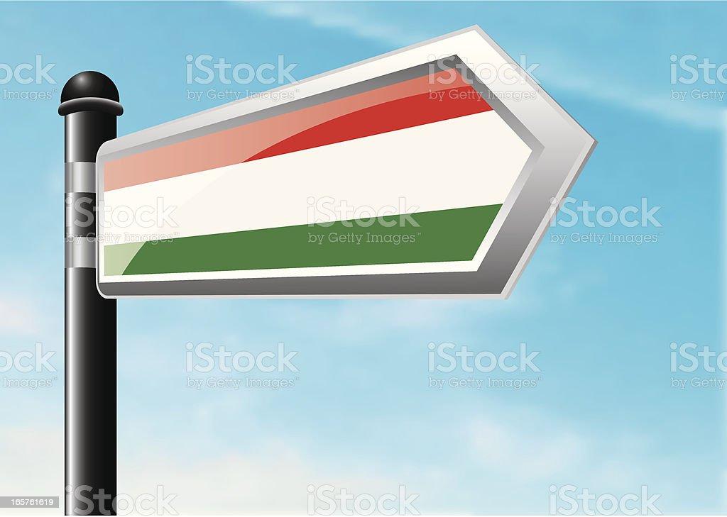 Destination: Hungary royalty-free stock vector art