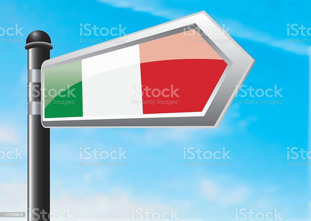 Destination: Italy royalty-free stock vector art