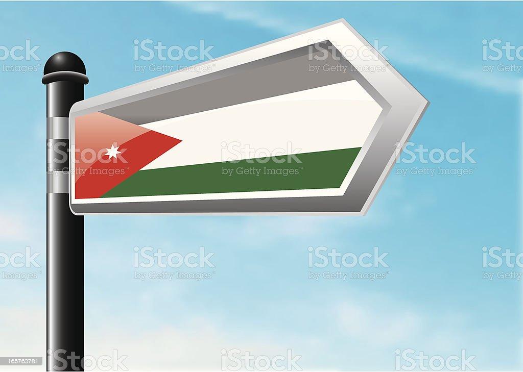 Destination: Jordan royalty-free stock vector art