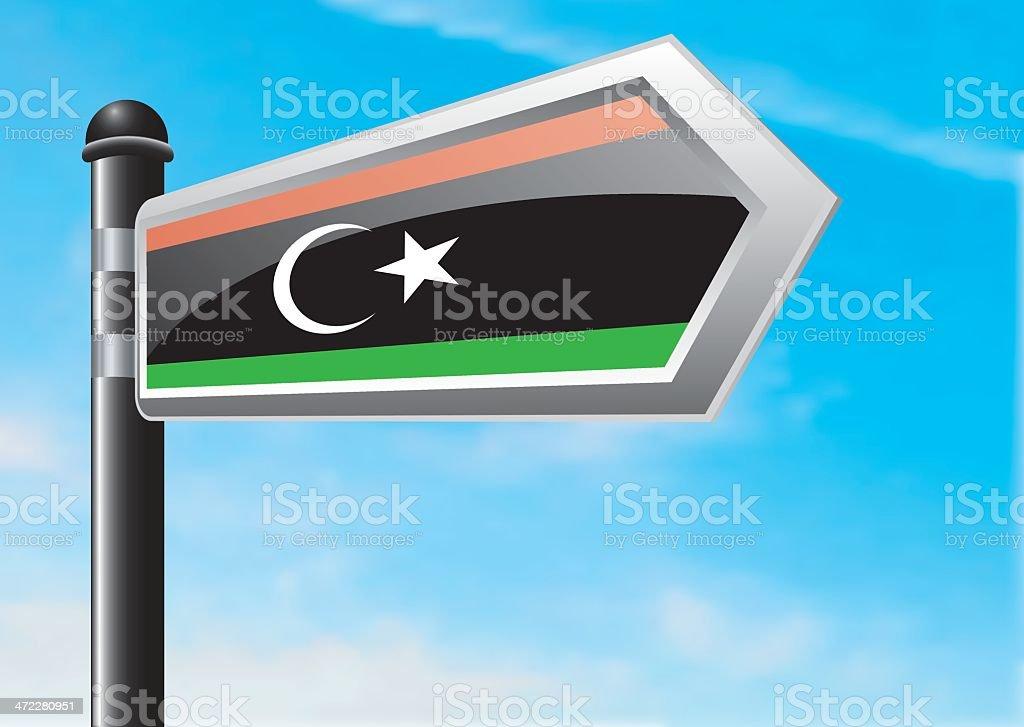 Destination: Libya royalty-free stock vector art
