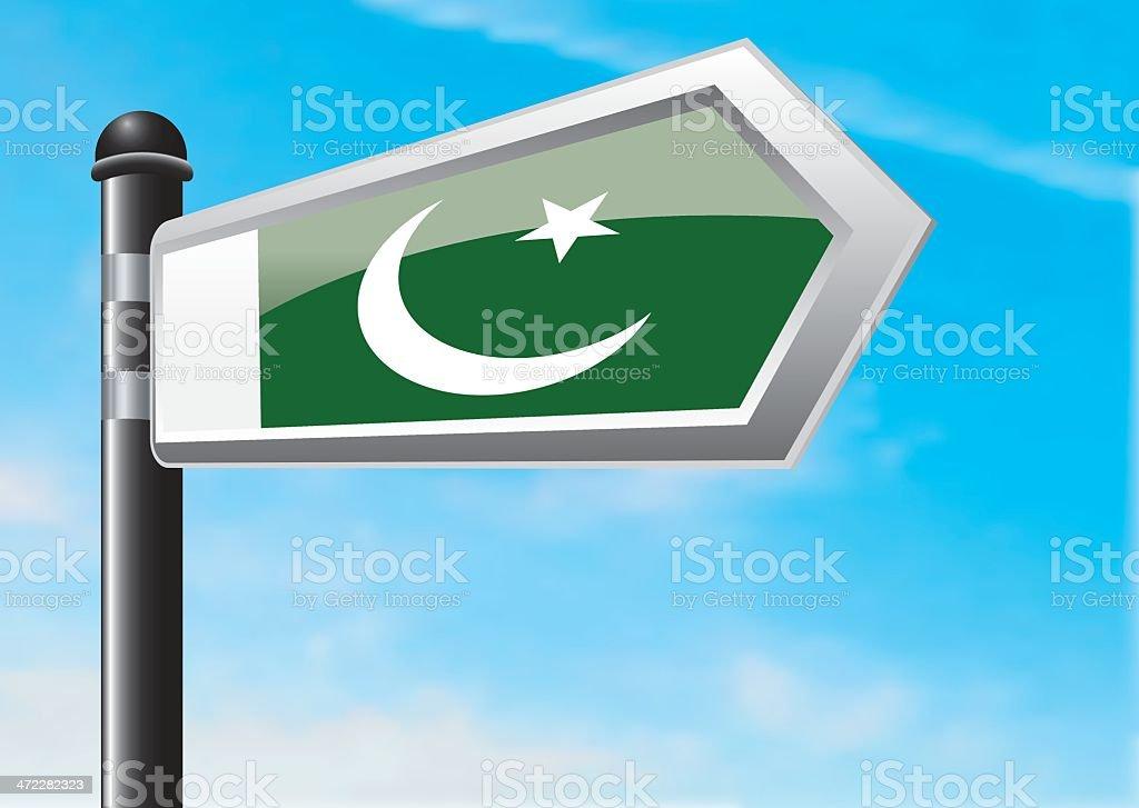 Destination: Pakistan royalty-free stock vector art