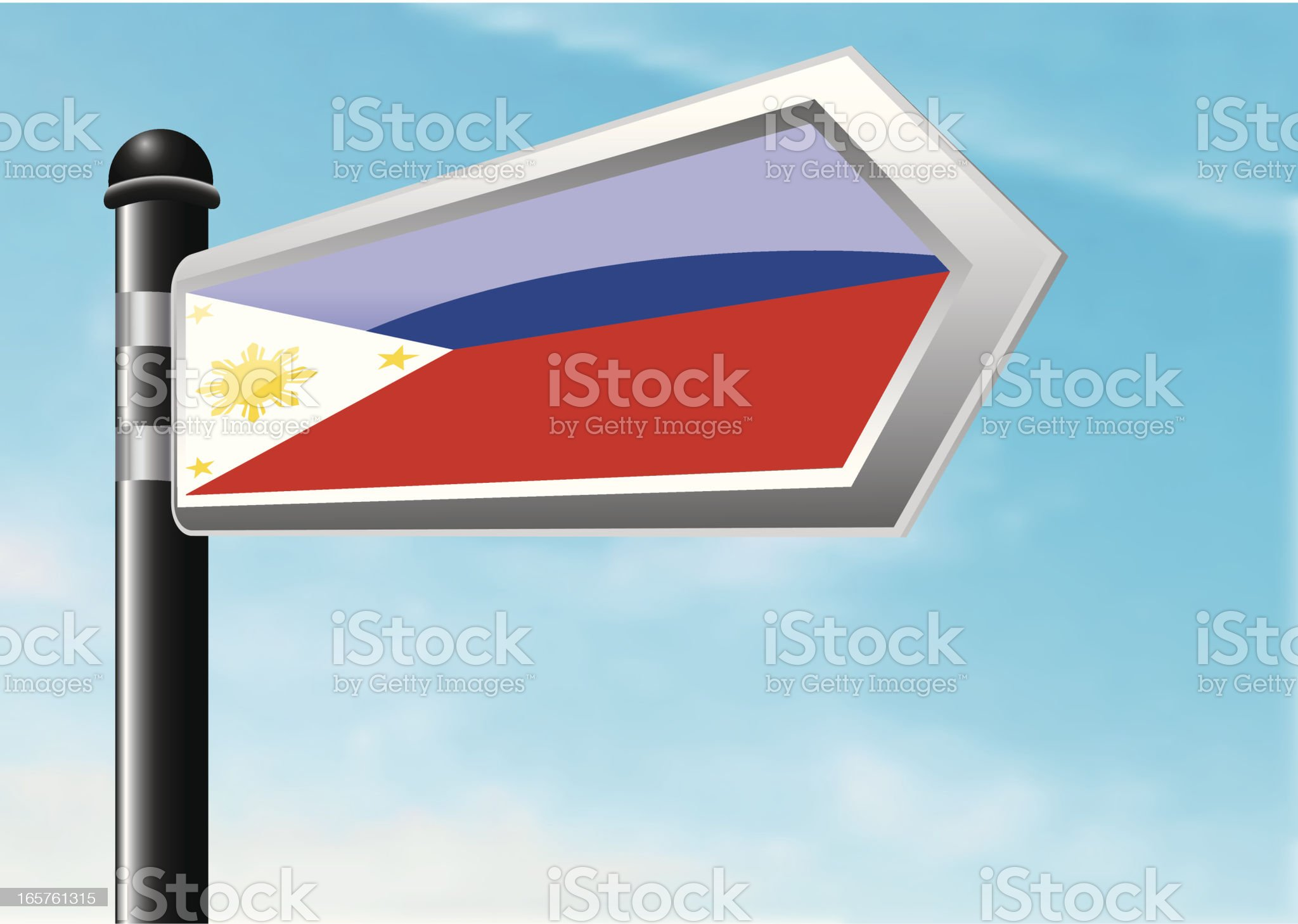 Destination: Philippines royalty-free stock vector art