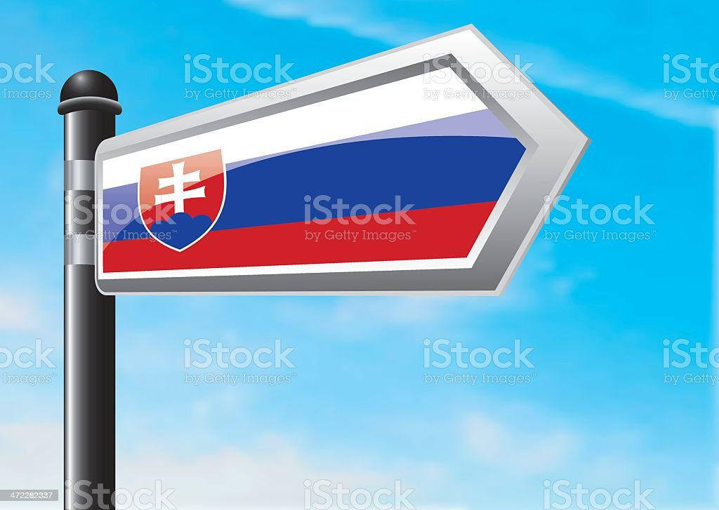 Destination: Slovakia royalty-free stock vector art