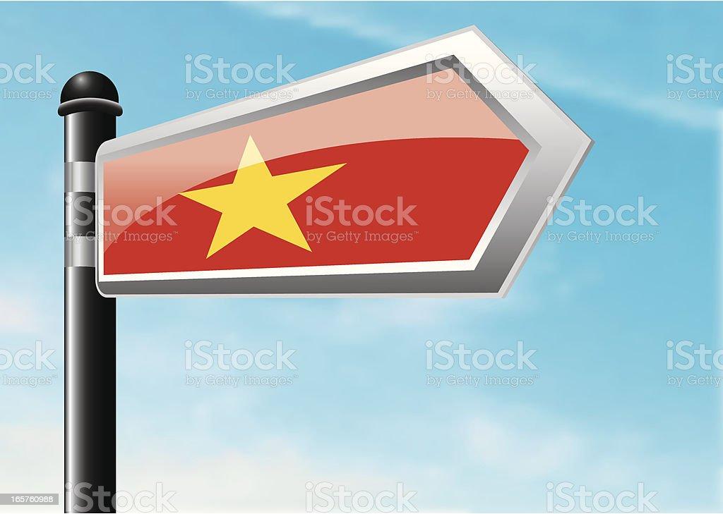 Destination: Vietnam royalty-free stock vector art