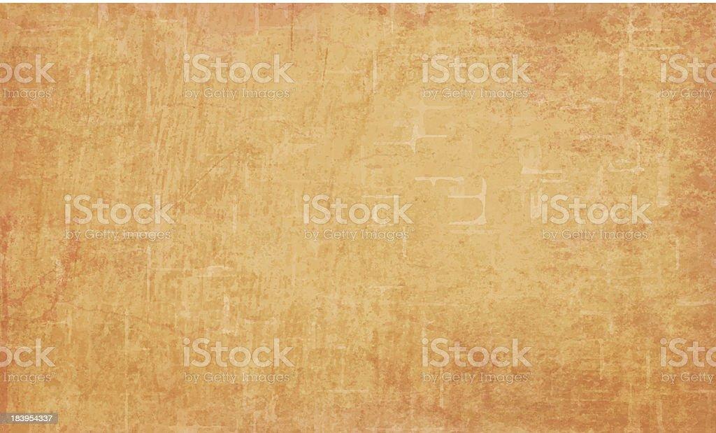 Detailed orange grunge vector background vector art illustration
