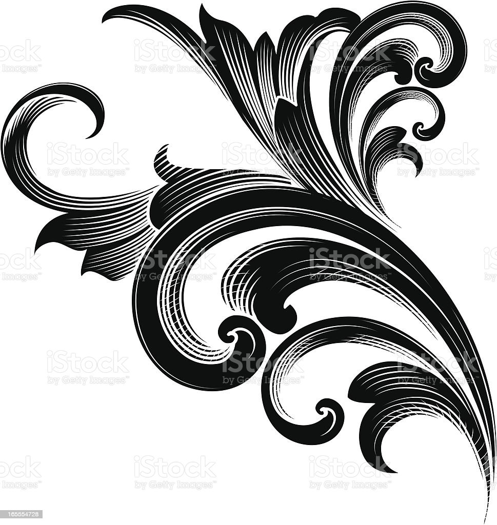 Detailed Ornament royalty-free stock vector art