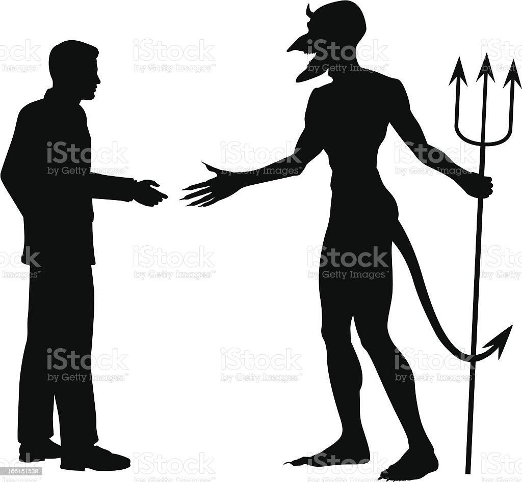 Devil business royalty-free stock vector art