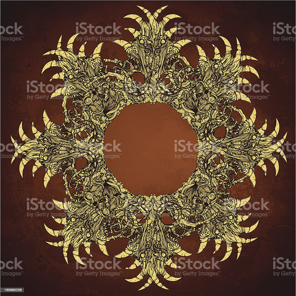 Devil Ring royalty-free stock vector art