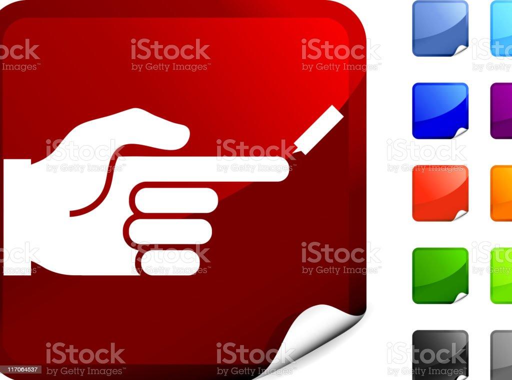 diabetes blood test internet royalty free vector art royalty-free stock vector art
