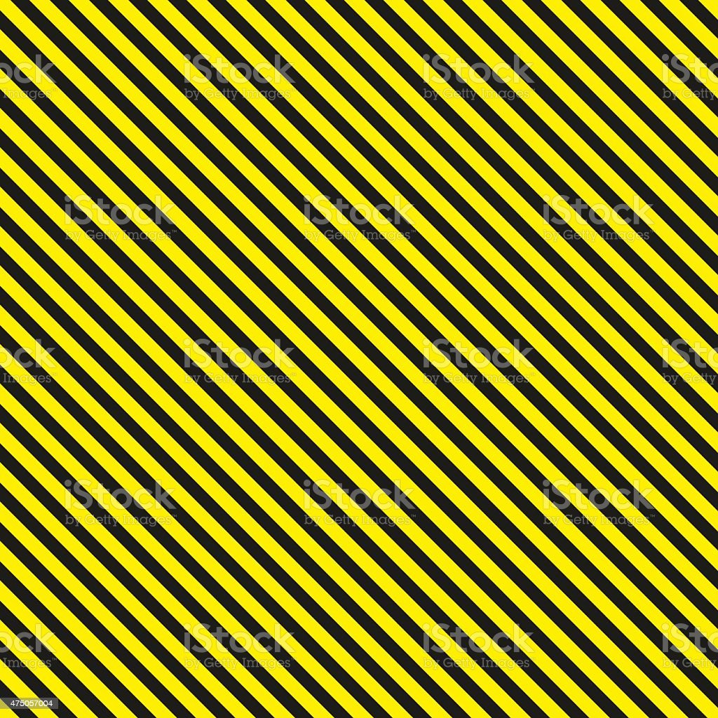 Diagonal background caution pattern - vector illustration vector art illustration