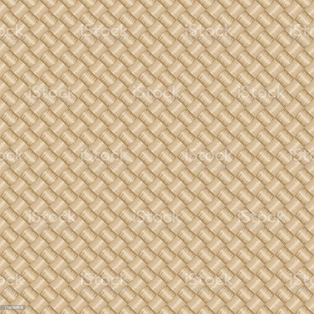 Diagonal Light Straw (Seamless) royalty-free stock vector art
