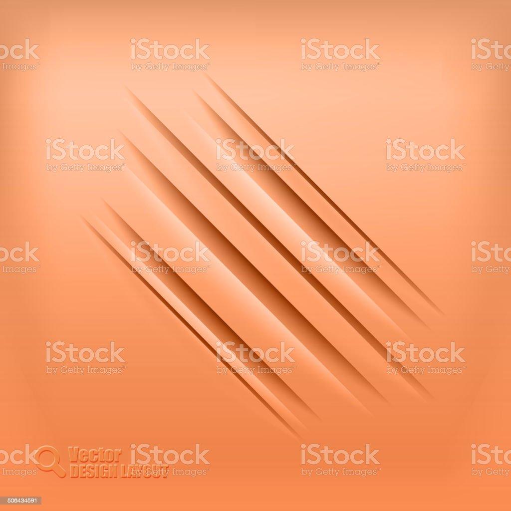 Diagonal Shadows royalty-free stock vector art