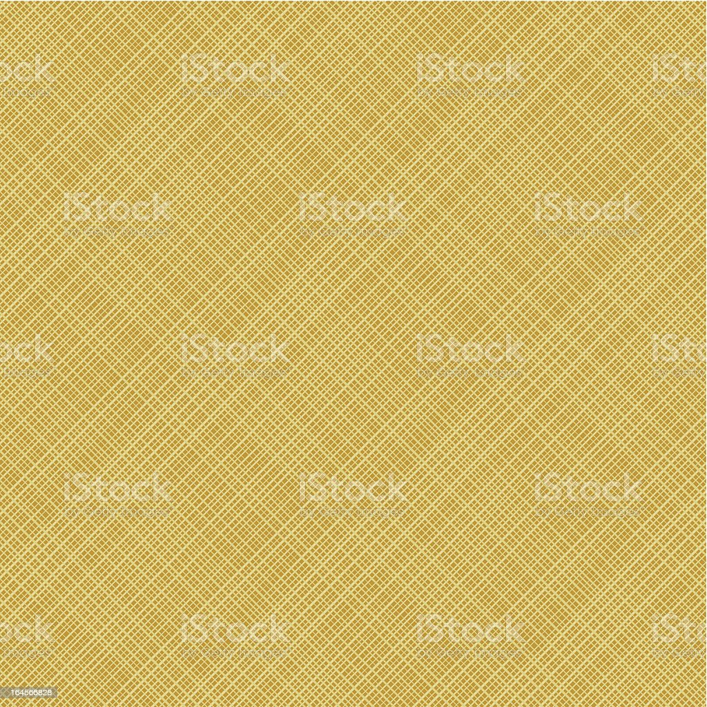 Diagonal weave canvas background, seamless pattern included vector art illustration