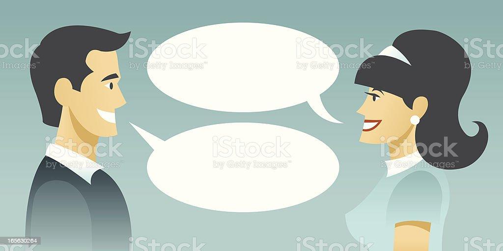 Dialog royalty-free stock vector art