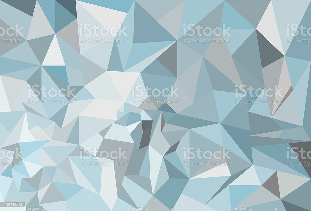 Diamant blue background vector art illustration