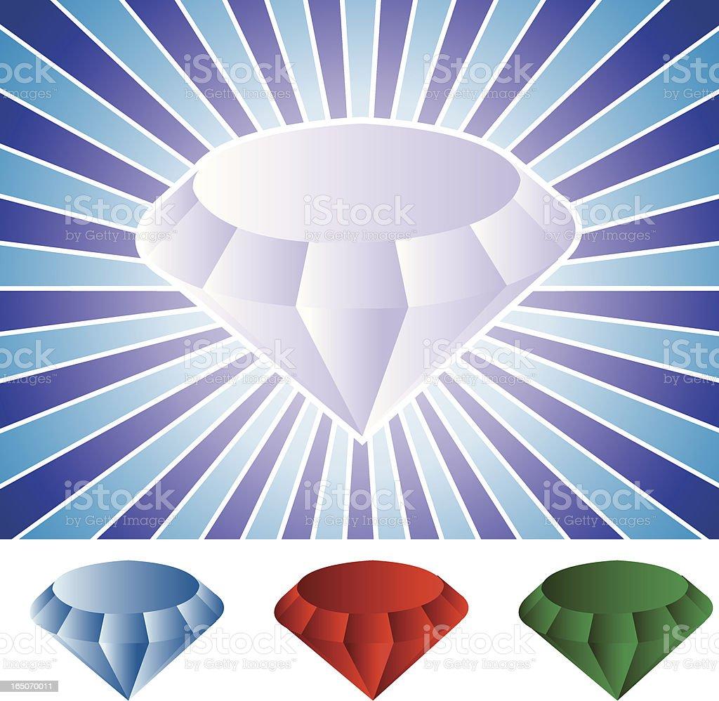 Diamond Background royalty-free stock vector art