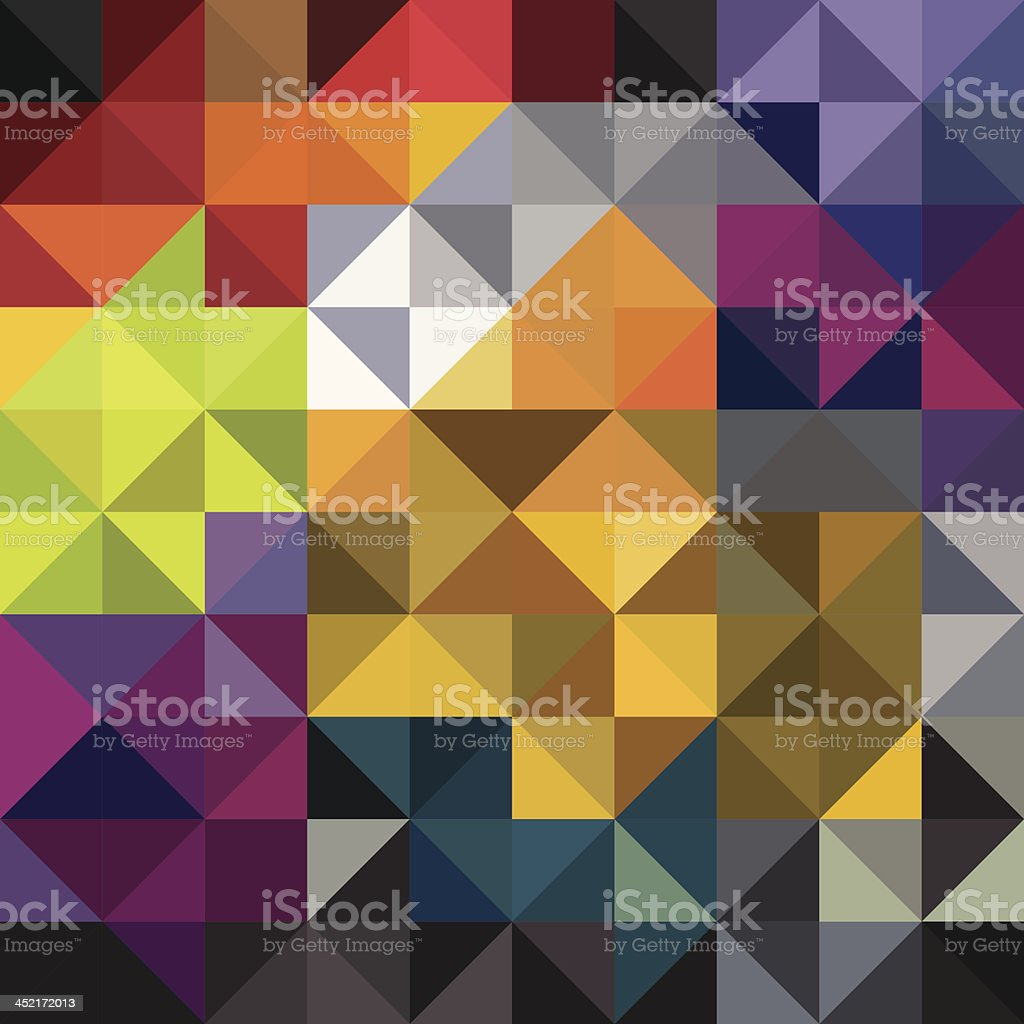 Diamond coloured background royalty-free stock vector art