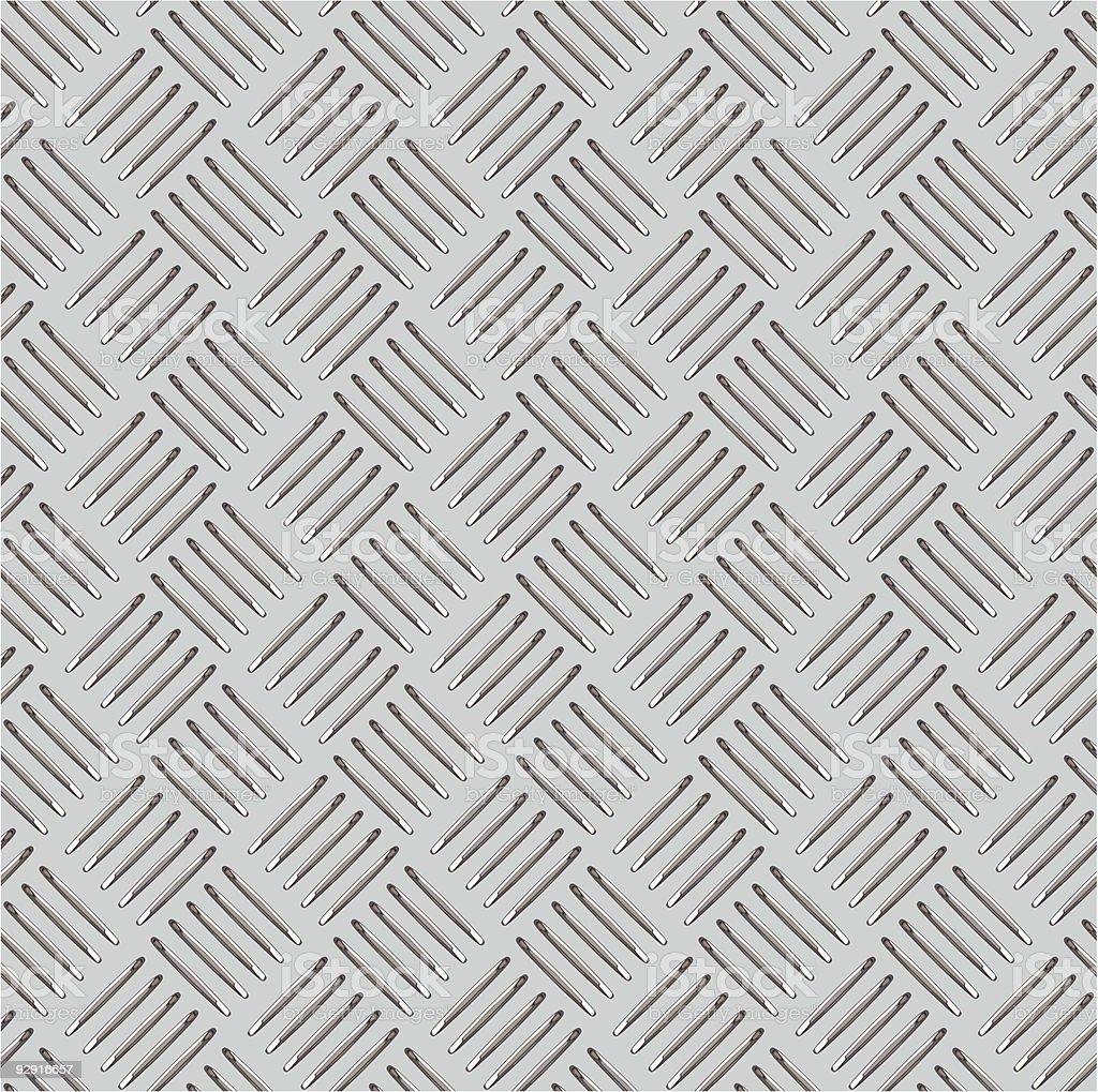 Diamond plate illustration background vector art illustration