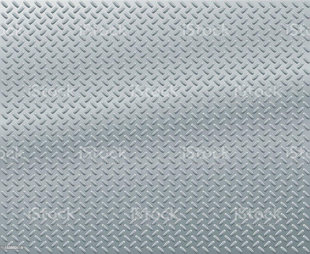 Diamond Plate royalty-free stock vector art