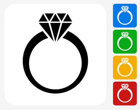 diamond ring vector icon - photo #6