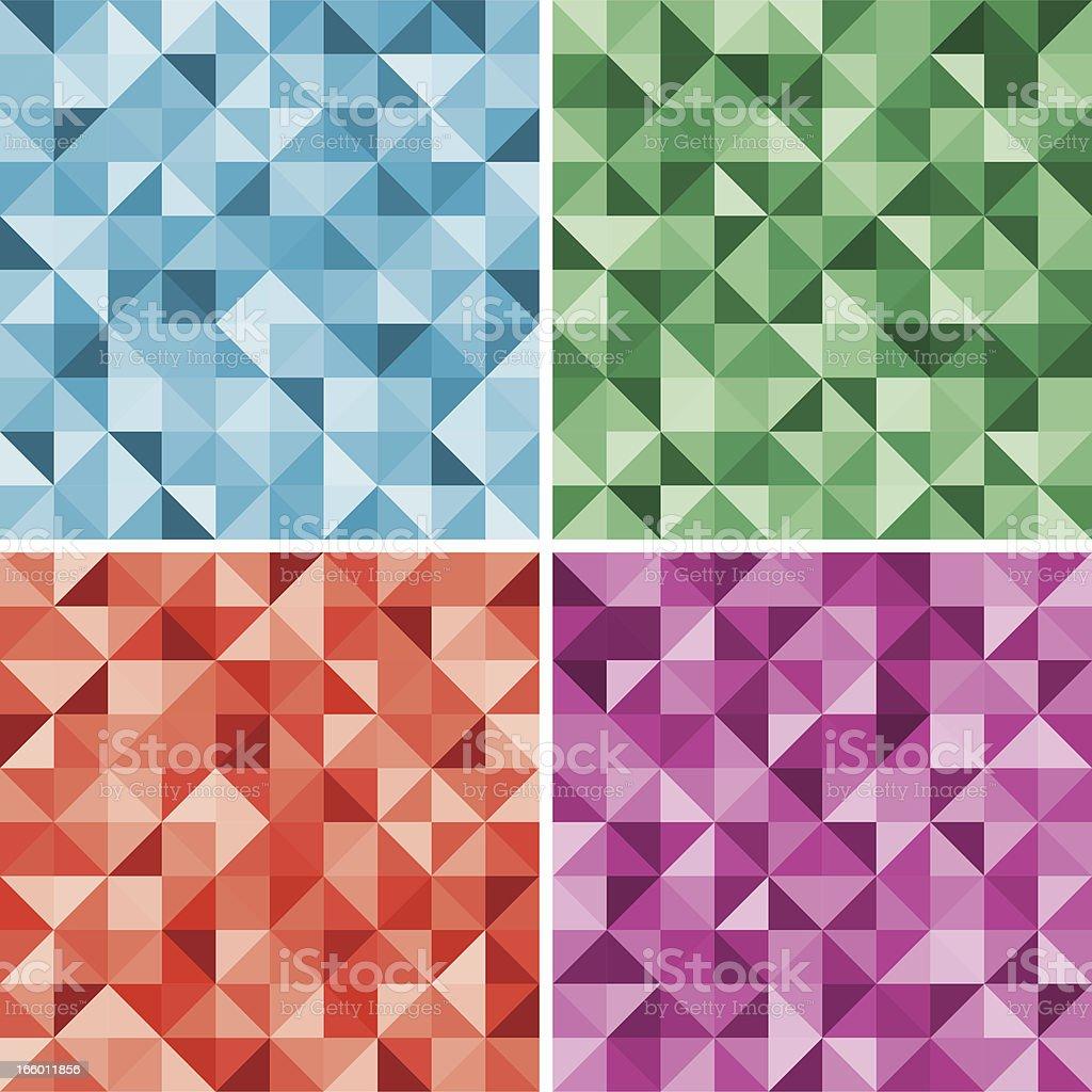 Diamond seamless background royalty-free stock vector art