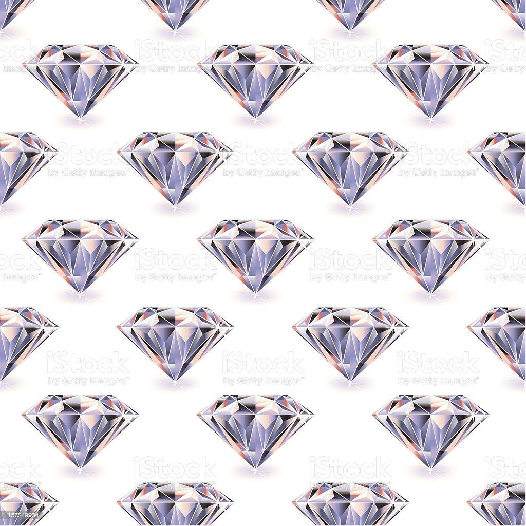 Diamond seamless repeat royalty-free stock vector art