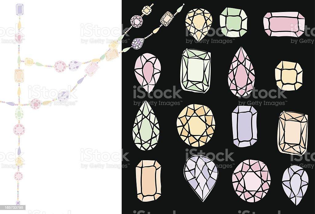 Diamond royalty-free stock vector art
