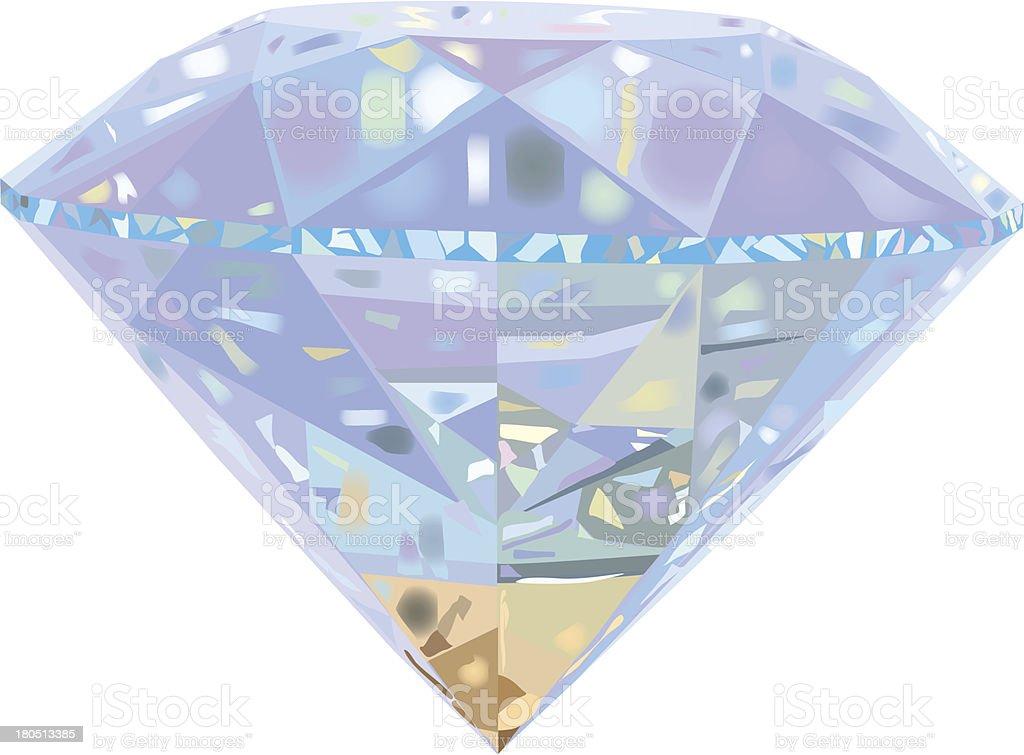 Diamond. royalty-free stock vector art