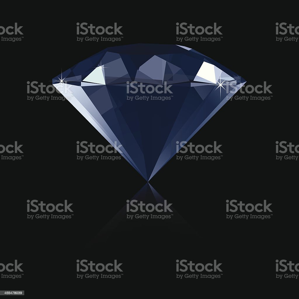 Diamond - Vector Illustration royalty-free stock vector art