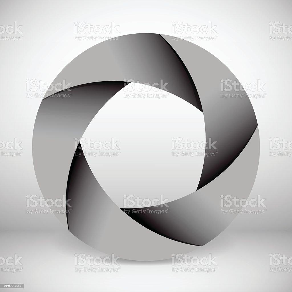 Diaphragm illustration vector art illustration