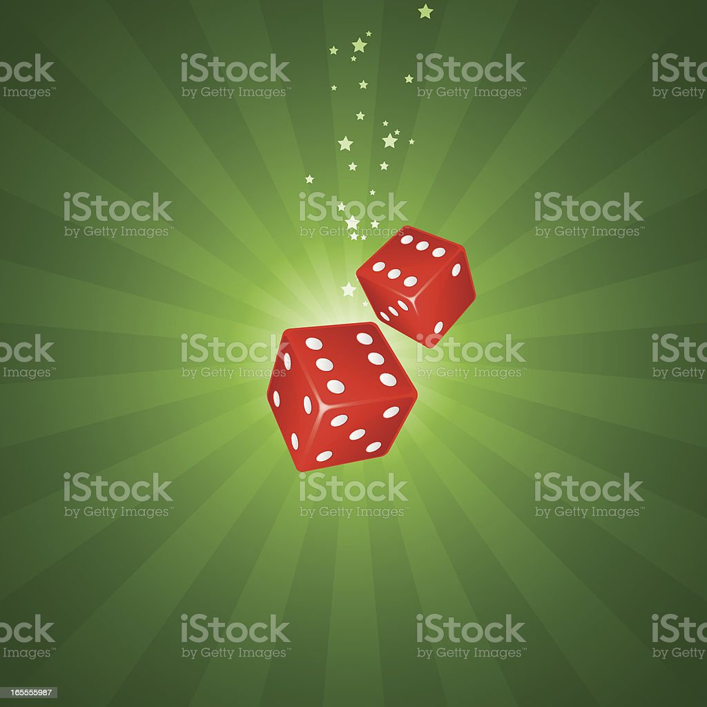 Dice background royalty-free stock vector art