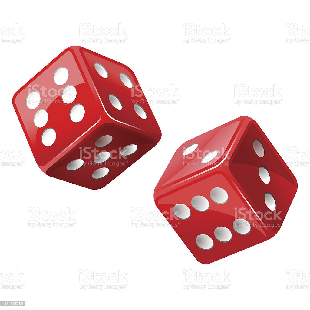 dice royalty-free stock vector art