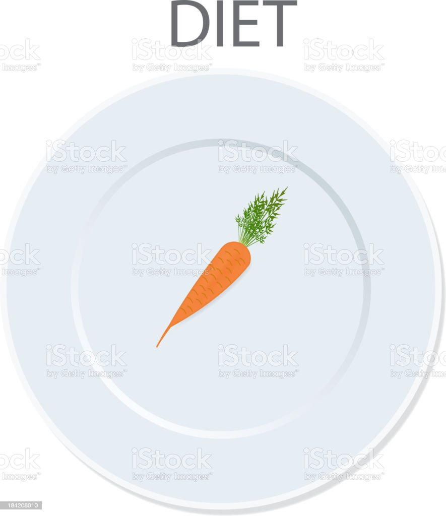 diet icon. vector illustration royalty-free stock vector art
