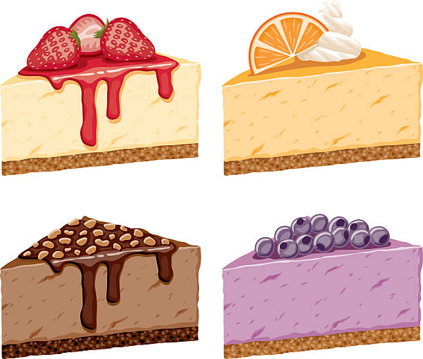 Cheesecake Images Clip Art : Strawberry Cheesecake Clip Art, Vector Images ...