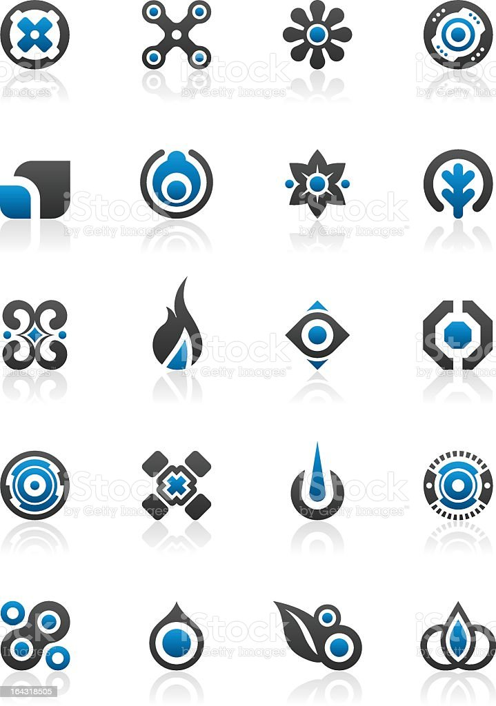 Different designs and graphic elements royalty-free stock vector art