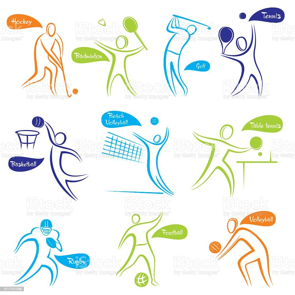 different game playing symbol design vector art illustration